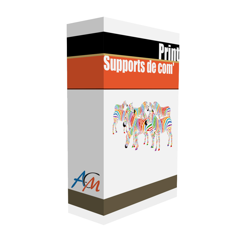Print supports de communication papier