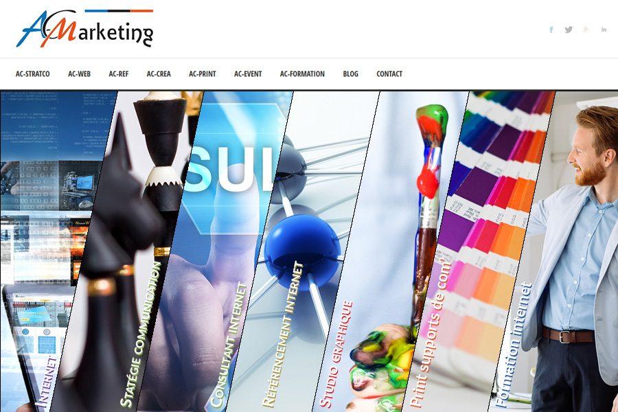 Nouveau site internet pour AC-Marketing