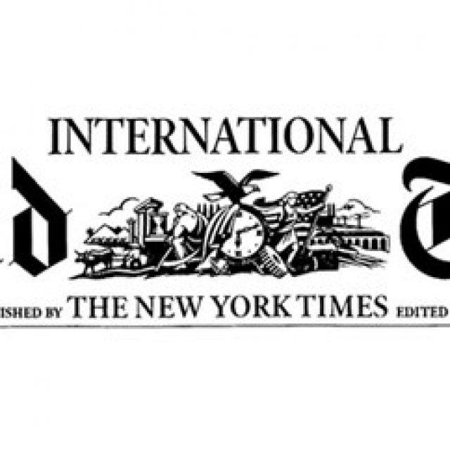 Extrait du journal New York Herald Tribune